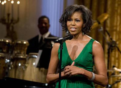 Michelle obama green