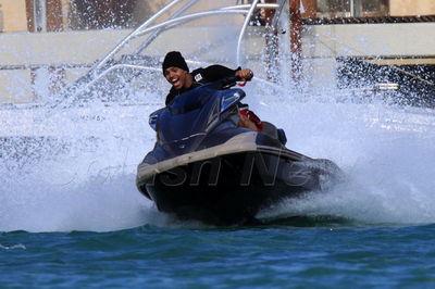Chris brown jetskis