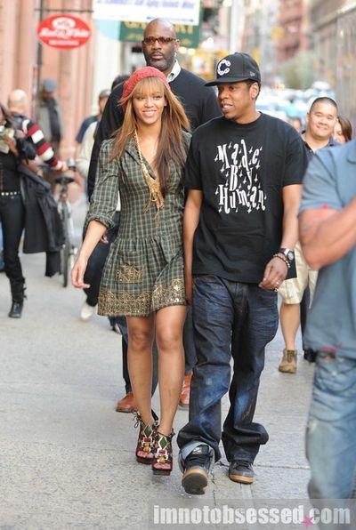 Beyonce jay-z soho