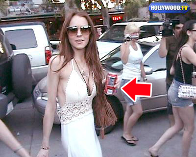 lindsay lohan skinny pictures. Lindsay Lohan has been hitting