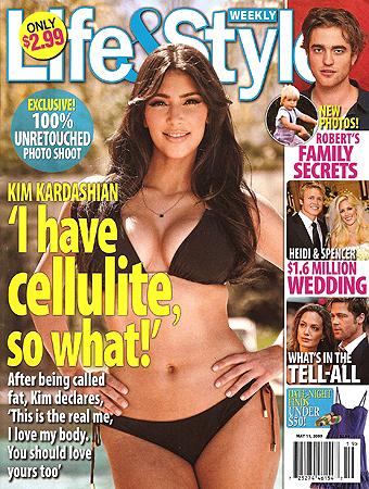 Kim kardashian cover
