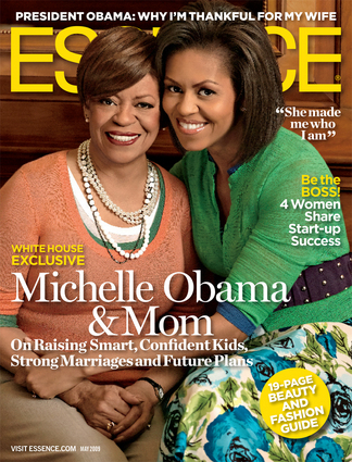 Michelle obama cover essence mother