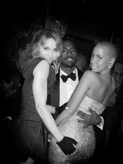 Kanye Madonna Amber