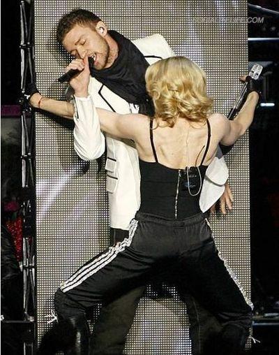 Madonnaconcertjustintimberlake