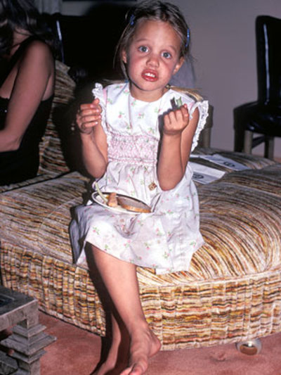 angelina jolie pictures when she was young