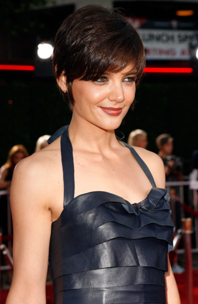 Katie Holmes Short Formal Hairdo