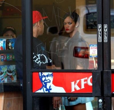Rihanna_kfc
