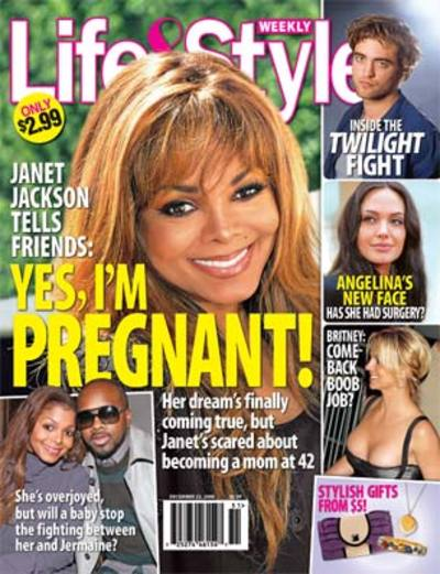Is Janet Jackson pregnant? The new issue of Life & Style is confirming ...