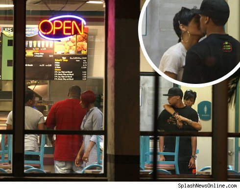Chris Brown  Rihanna on Rihanna And Chris Brown Kfc Deal Offer   Binside Tv