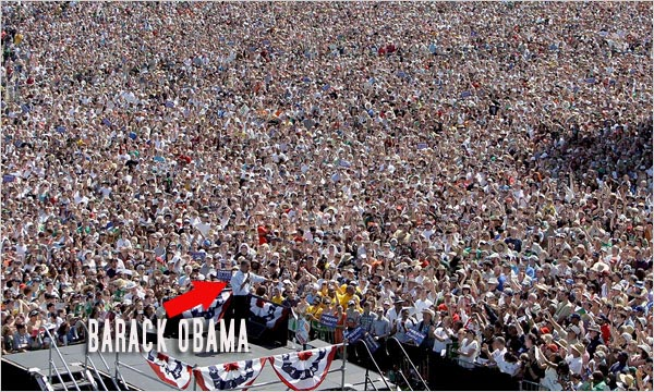 barack obama biography wikipedia. Obama Biography: obama crowd